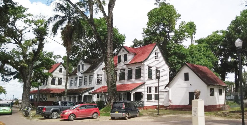 Houses in Paramaribo, Suriname