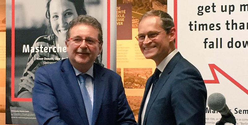 La Région de Bruxelles-Capitale et la Ville de Berlin célèbrent 25 ans de coopération
