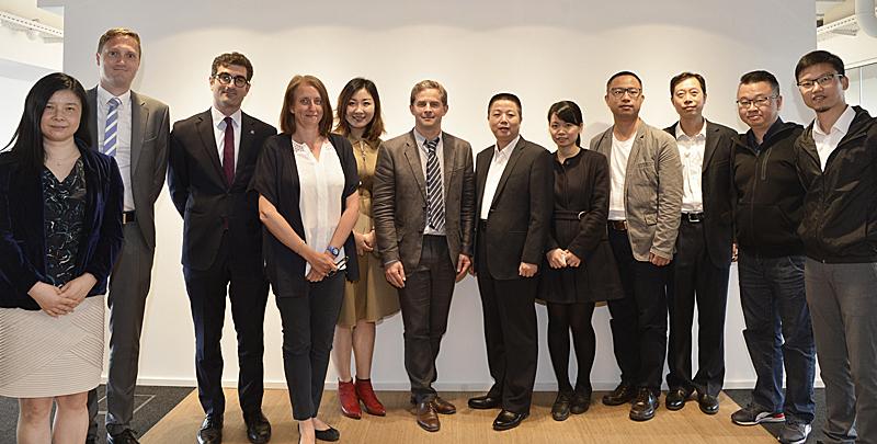 Une délégation de Guangzhou découvre Bruxelles