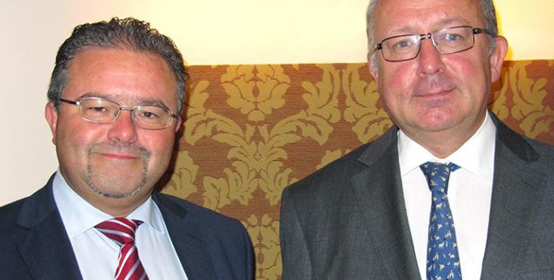 Le Secrétaire général Christian Lamouline en visite à Vienne