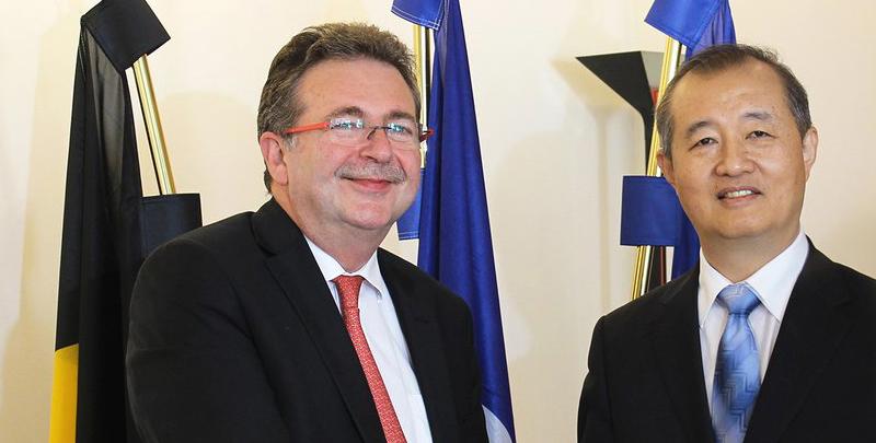 Une délégation de Pékin en visite à Bruxelles