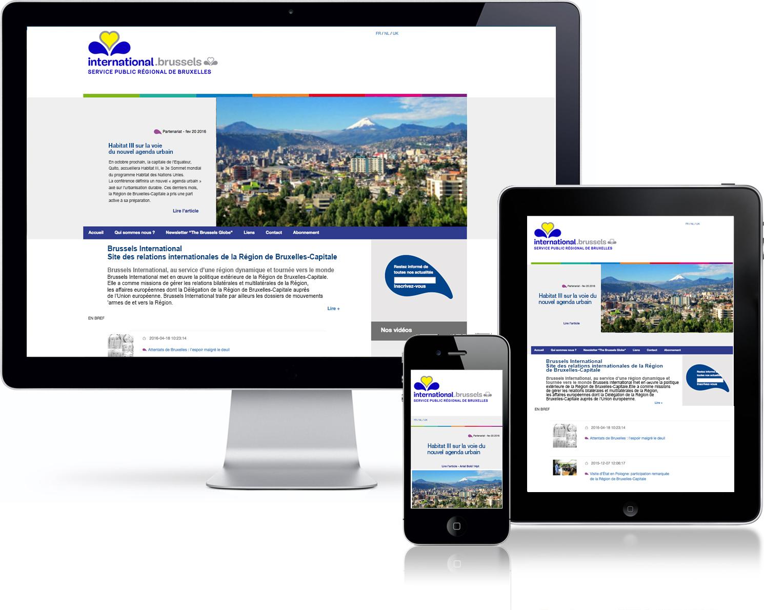 Le site Internet de Brussels International a fait peau neuve. Les  modifications ont porté sur une lisibilité accrue grâce à un nouveau  graphisme et à ... 5eaa52ee6057
