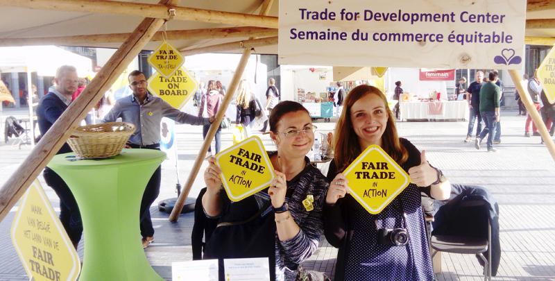 La Journée du commerce équitable a sensibilisé les Bruxellois