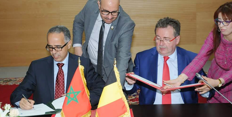 The regions of Rabat-Salé-Kenitra and Brussels-Capital strengthen their relations