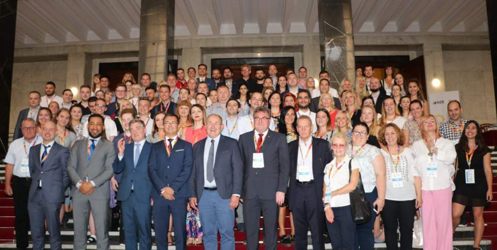 Group photo of the participants of the Summer Academy (AER)